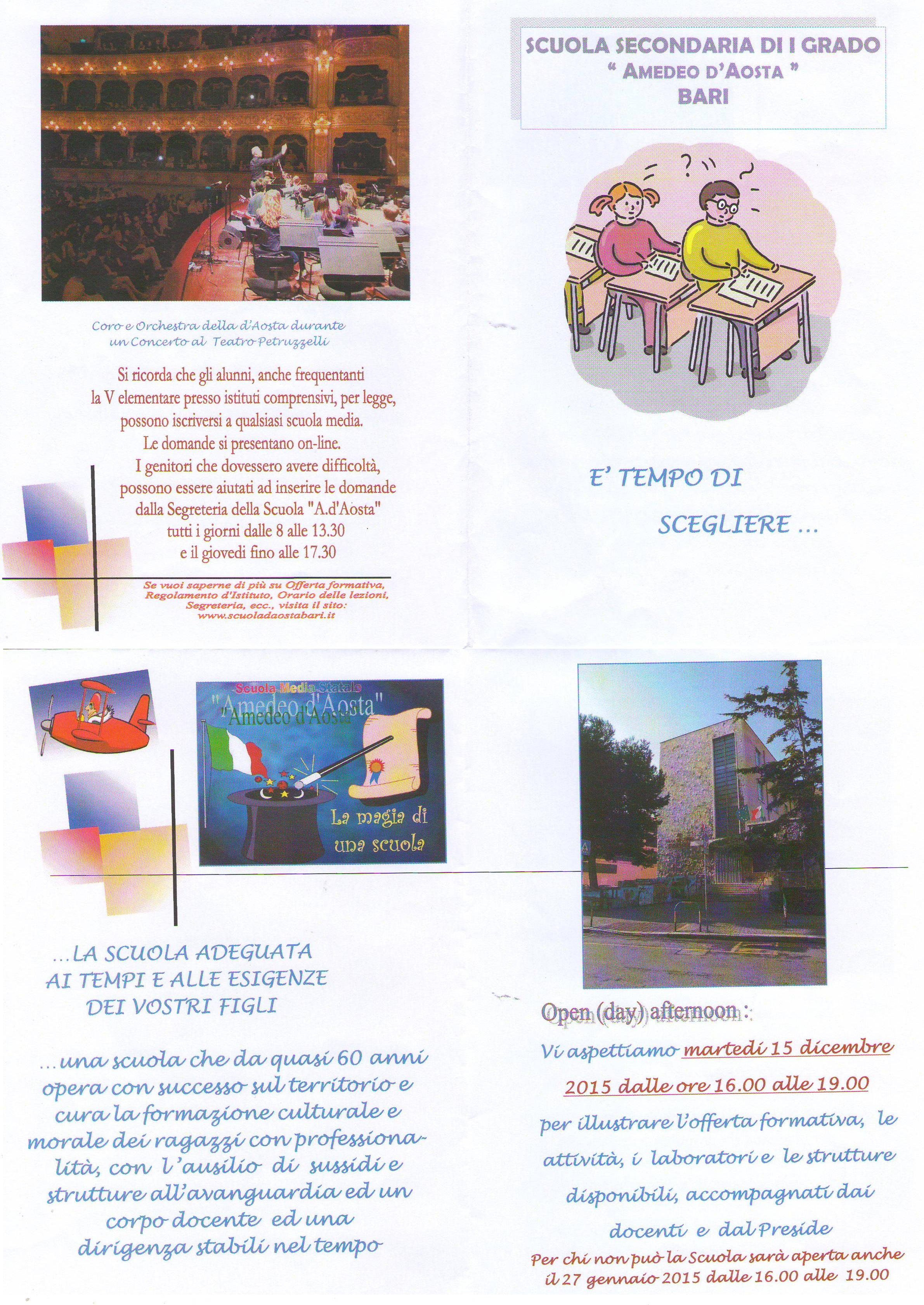 Scuola Re David Bari Calendario Scolastico.Comunicazioni Scuola Famiglia